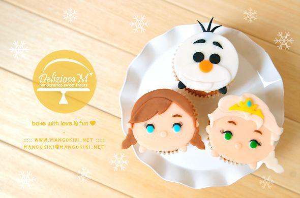 Conoce El Fenómeno Tsum Tsum: 17 Best Ideas About Frozen Theme Cupcakes On Pinterest