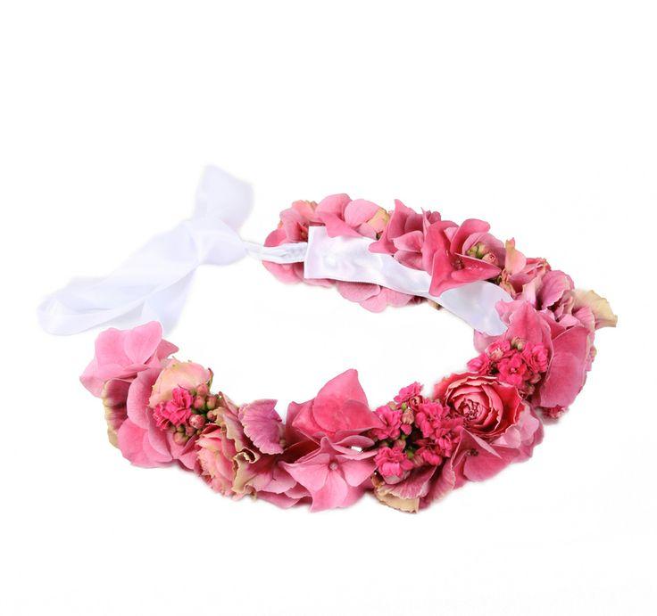 Corona de flores Juliet | Bourguignon Floristas