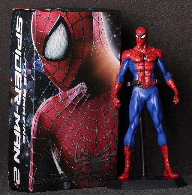 J.g чен сумасшедшие игрушки Mavel удивительный человек паук пвх фигурку модель коллекция игрушек 12  30 см с коробкой
