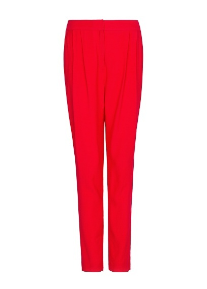 MANGO - Tapered pleated trousers