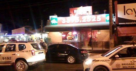 RS Notícias: Criminosos fazem arrastão em pizzaria no bairro Tr...