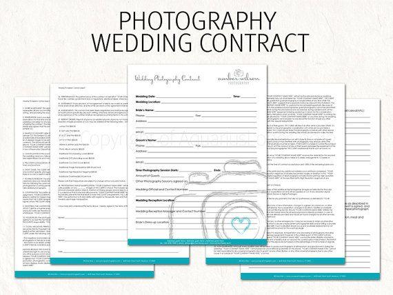Viac ako 25 najlepších nápadov na Pintereste na tému Wedding - wedding photography contract template