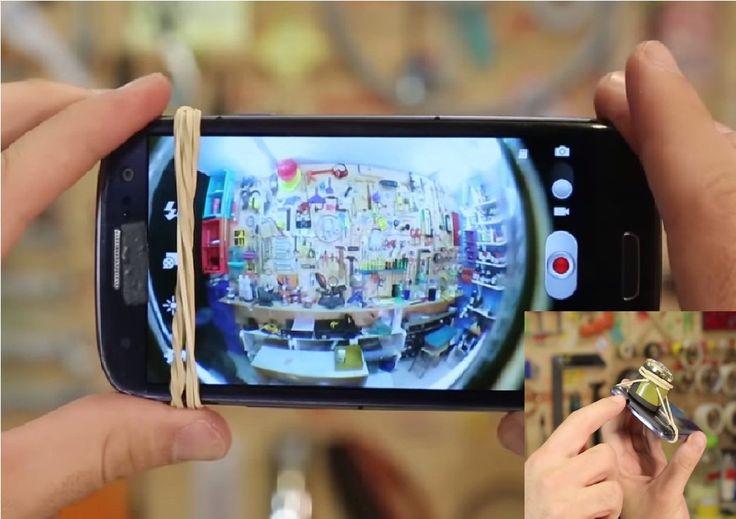 Aprenda a fazer uma lente olho de peixe para usar no celular