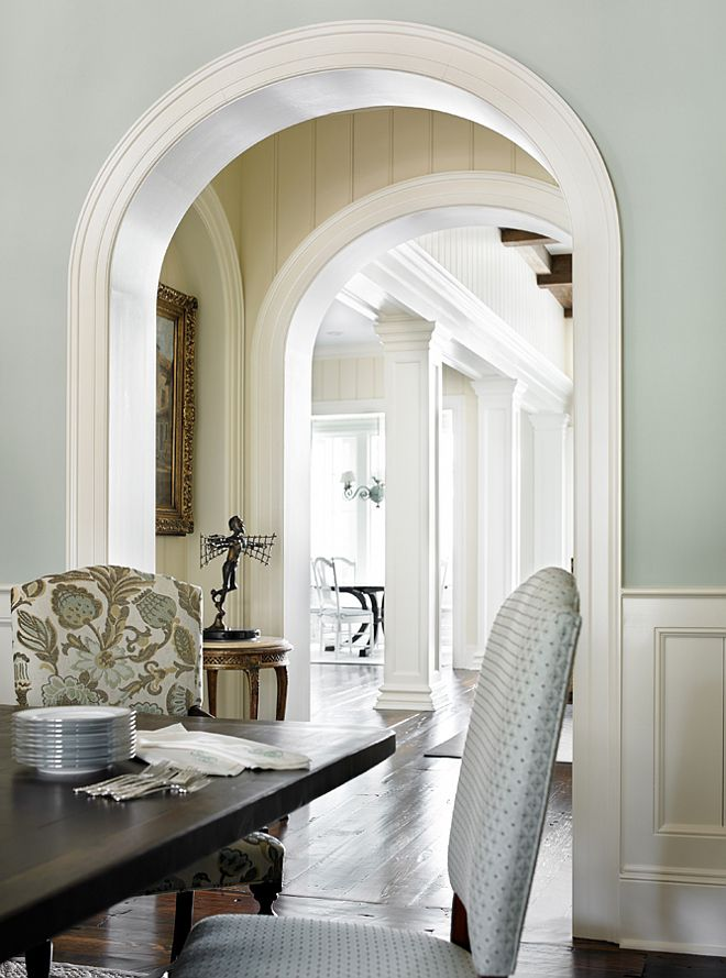 25 best ideas about dining room paneling on pinterest - Interior dining room paint colors ...