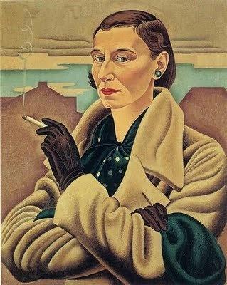 New Zealand painter Rita Angus (1908-1970), Self-portrait, 1937