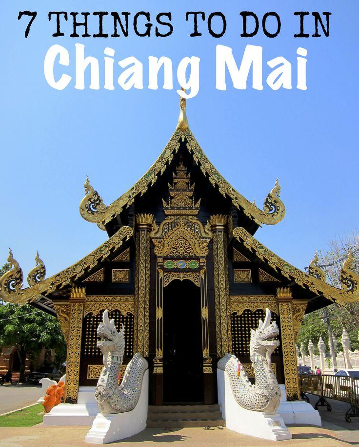 7 Things to do in Chiang Mai, Thailand #ChiangMai