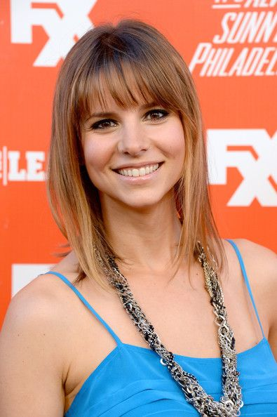 Jill Latiano Medium Straight Cut with Bangs - Jill Latiano looked youthful with her shoulder-length straight 'do with bangs during the FXX Network launch.
