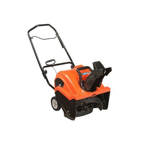 "Ariens Path-Pro 21 in. Single-Stage Snow Blower-208cc  Price For: Each Fuel Type: Gas Item: Snow Blower Engine Brand: Path-Pro(TM) Inlet Height: 12-7/32"" Wheel Dia.: 7-1/2"" Drive Type: Auger Auger Diameter: 8-13/32"" Wheel Width: 1-3/4"" Torque: 9.5 ft.-lb. Clearing Path: 21"" Displacement: 208cc Drive Gears: 1 Forward Start Type: Electric/Recoil Stages: 1 Fuel Tank Capacity: 2.9 qt. Country of..."