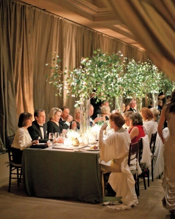 458 best modern wedding centerpieces images on pinterest elegant green wedding centerpieces eucalyptus in tall cylinders junglespirit Image collections