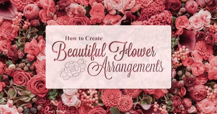 How to Create Beautiful Flower Arrangements | Total Lifestyle Builders - http://www.totallifestylebuilders.com.au/how-to-create-beautiful-flower-arrangements/