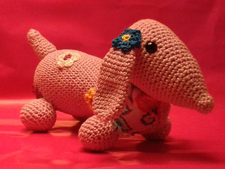 Amigurumi Wiener Dog Pattern : Best amigurumi dogs images crochet dolls