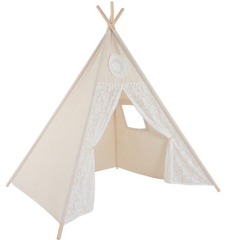 Children's quality Vintage Lace Teepee