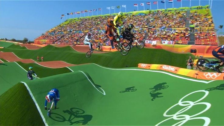 Who's watching Olympic BMX semis and finals today?   RELATED: #Rio2016 - Olympic Cycling at its best http://www.bikeroar.com/articles/number-rio2016-olympic-cycling-at-its-best.   #bmx #bike #cycling #olympics #rio2016 #goforgold