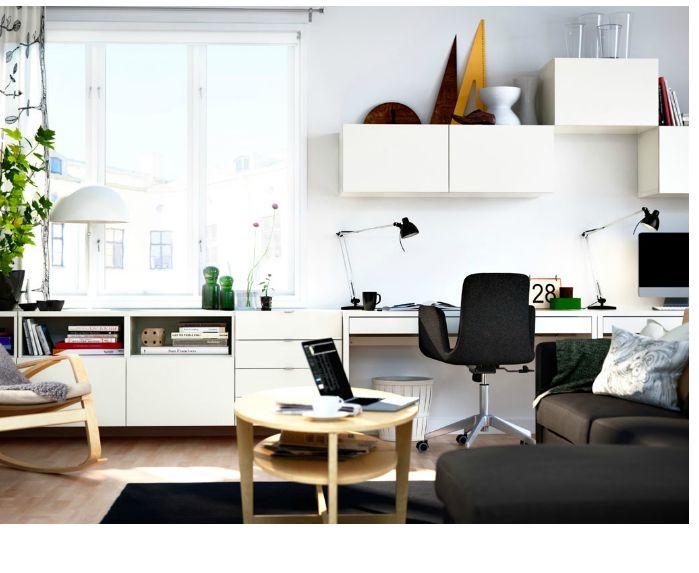 From IKEA - Besta Range - wall storage
