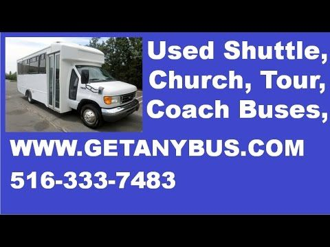 Used Bus For Sale 2005 Ford E450 Glaval Wheelchair Shuttle Bus | For more information call CHARLIE at 516-333-7483 OR visit us at http://www.getanybus.com