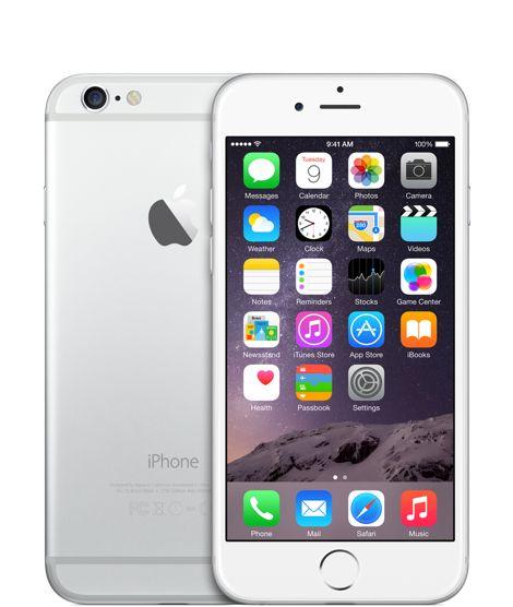 iPhone6 16Go Argent Déverrouillé - Apple Store (France)