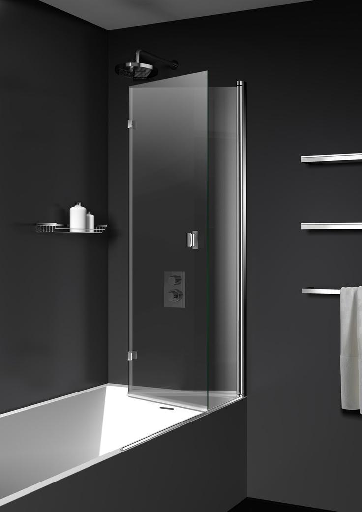 17 mejores ideas sobre ducha para ba era en pinterest - Mamparas de banera economicas ...