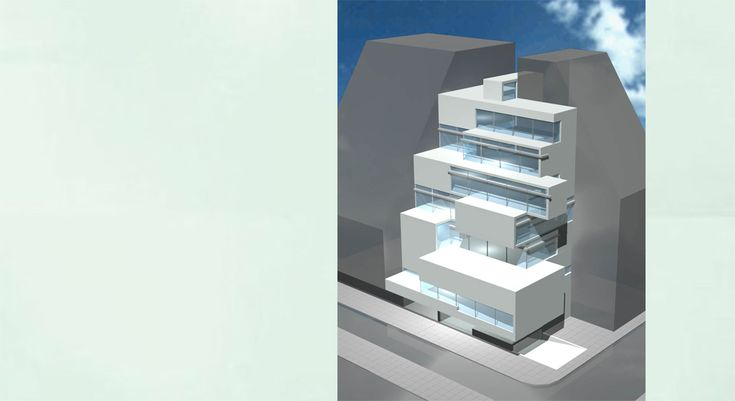 Athens Lawyers Association Building, (3rd Prize) | MRA Architects