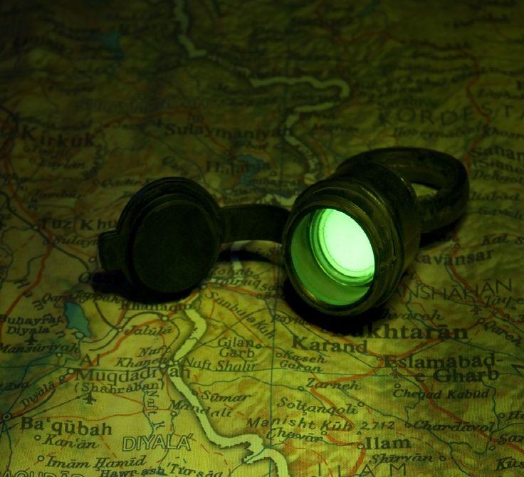Nato Tritium Torch Self-Luminous