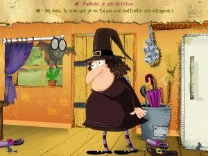 Aidez une gentille sorcière à retrouver son nom perdu dans ce livre interactif développé par Slim Cricket qui fera peut-être de vous un véritable sauveur !