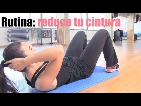 Reduce cintura y abdomen con esta rutina de ejercicios (VIDEO) | Adelgazar - Bajar de Peso
