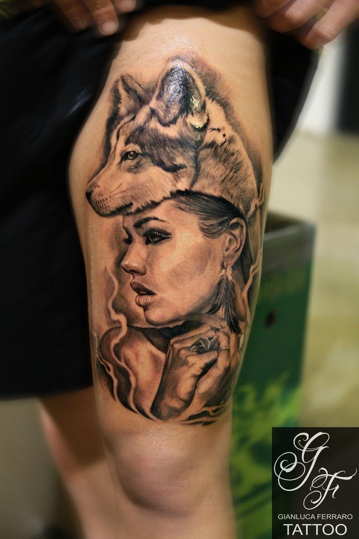 #art #realistictattoo #tattoostatue #tattoosculpture #greenglide #londonart #londontattoo #tattoonaples  #napolitattoo #londonartist #londonink #bestink #tato #londontattooartist #tatuaje #wolf #woman #ring #feather #tattoowolf #tattoowoman #tattoolupo #tattoofeather #tattoopiuma #lupo #piuma #tattoo #tatuaggi #realistic #migliore #napoli #realistici
