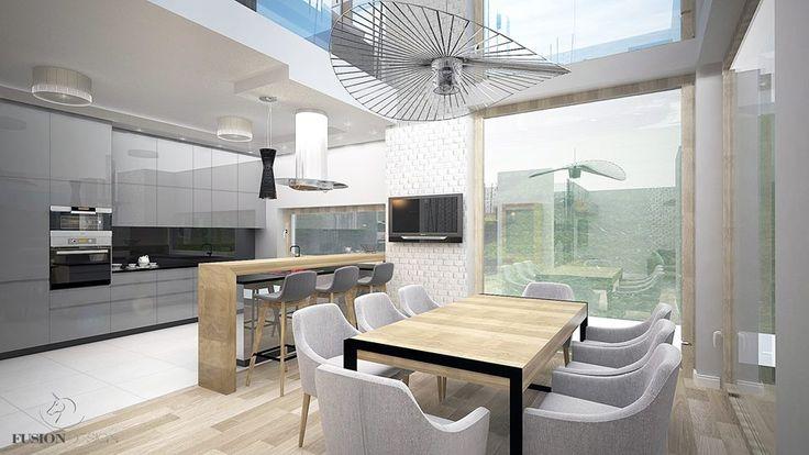 modern & scandi kitchen & dining room