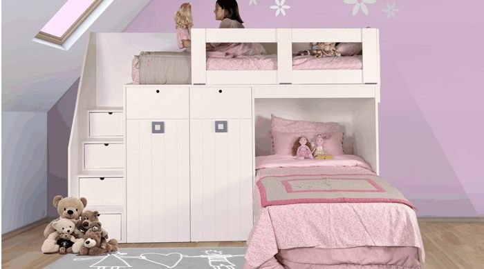1000 images about ideas habitaci n ni os on pinterest - Litera ikea ninos ...