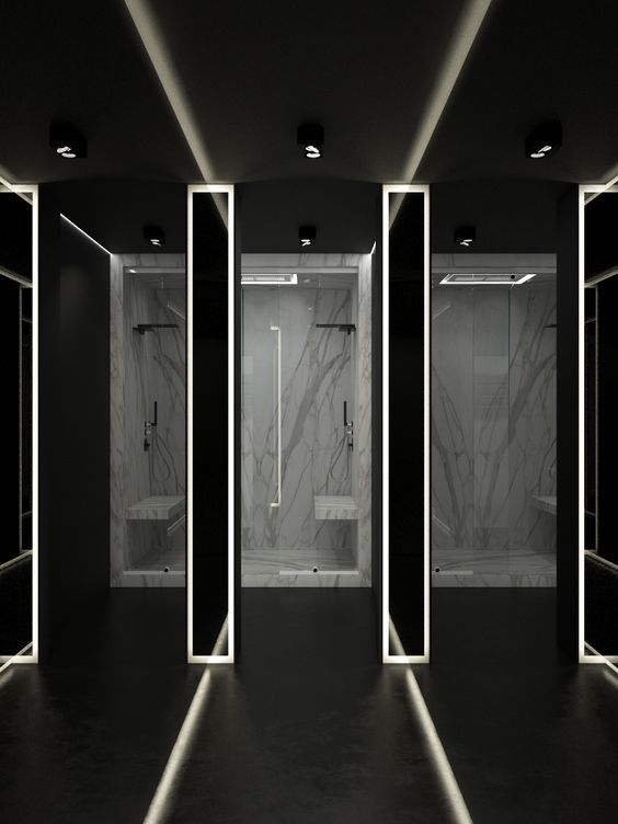 MINIMALIST BATHROOM DECOR Find out more at www.maisonvalentina.net #bathroom #luxury #contemporary