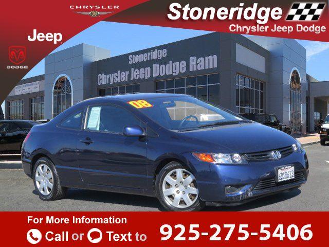 2008 *Honda*  *Civic*   114k miles Call for Price 114351 miles 925-275-5406 Transmission: Automatic  #Honda #Civic #used #cars #StoneridgeChryslerJeepDodge #Pleasanton #CA #tapcars