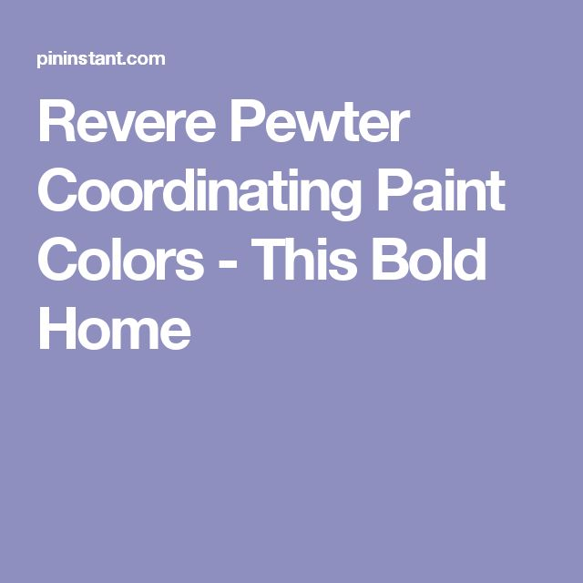17 Best Ideas About Coordinating Paint Colors On Pinterest
