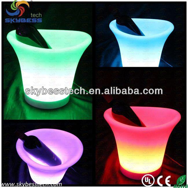 Bar de gelo balde / clube de balde / balde de champanhe / LED balde de gelo alishoppbrasil