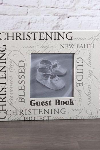 Christening Script Guest Book 220x330 The best christening gift ideas