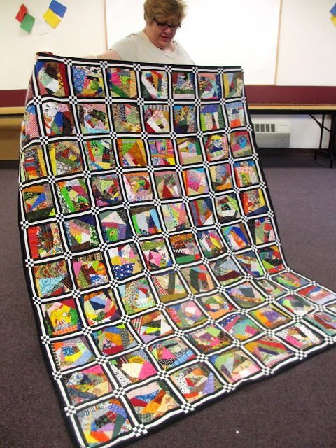 Western New York Modern Quilt Guild: July meeting show and tell