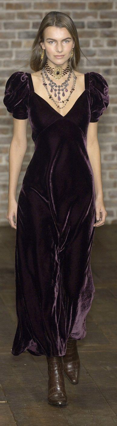 Ralph Lauren fall 2003