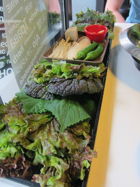 Must-eat in Korea: Korean BBQ. Click to see how to make your own ssambap (lettuce wrap)!