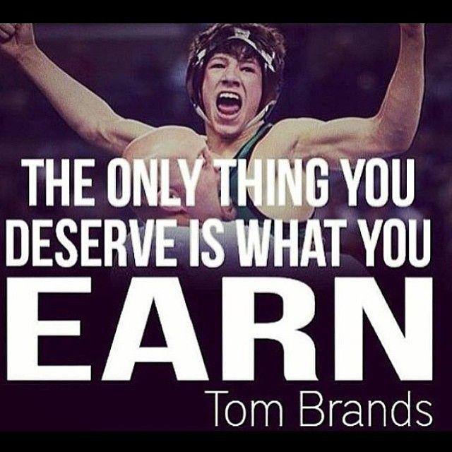 Go earn it #YourTime via wrestlersgrind
