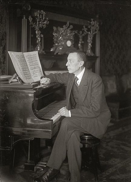 """Sergey Rachmaninov- why do I see it with a """"v"""" or a double """"f""""? You'd think people could agree on an accepted spelling of a proper name."""
