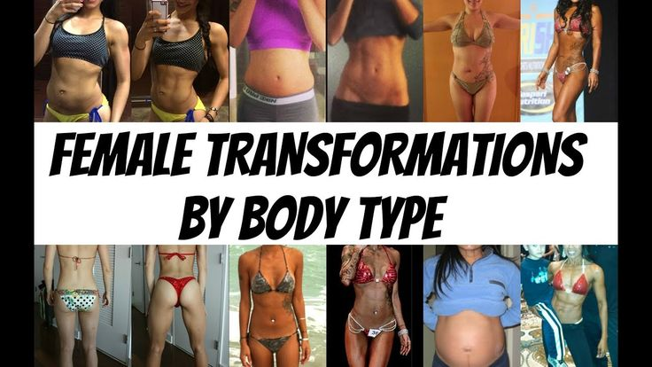 REAL Female Transformations by Body Type   Gauge Girl Training