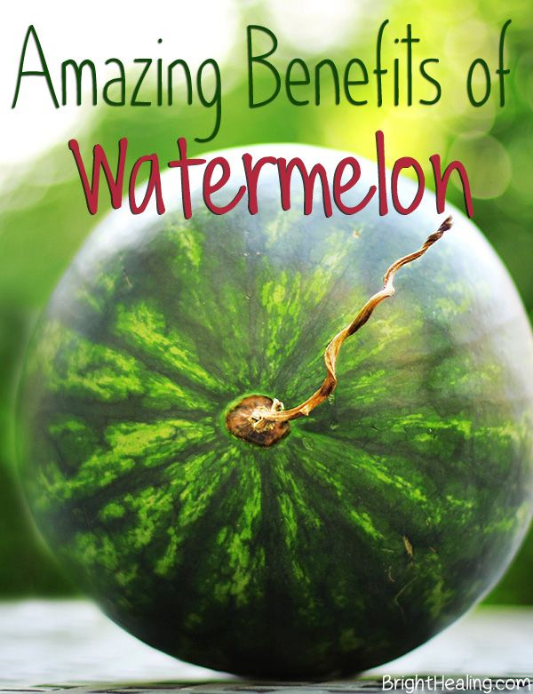 The Amazing Health Benefits of Watermelon