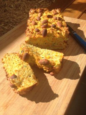 Ripped Recipes - Pumpkin & Zucchini Protein Bread - We love cooking with pumpkin, its so versatile & super healthy. This bread  makes for the perfect snack with a spread of peanut butter; top it with poached eggs for breakfast or add it to your salad for a little change up at lunch time! This particular version is made in a thermomix BUT its easily adapted to use whatever appliances you have available.
