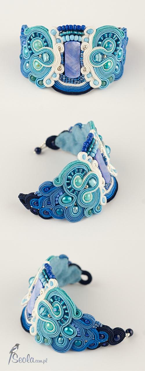 Soutache bracelet Tanatola