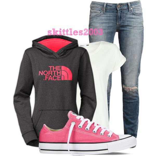 comfy by skittles2003 on Polyvore featuring ONLY, Paige Denim and Converse