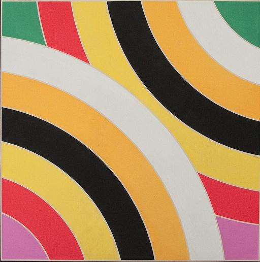 Hard edge painting frank stella for Minimalist art 1960