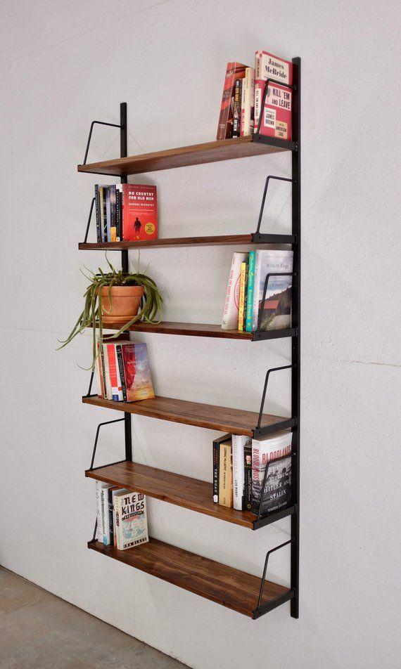 Custom Wall Mounted Bookshelf In 2019