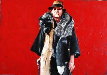 "Saatchi Art Artist Igor Shulman; Painting, ""The king of fasion"" #art"