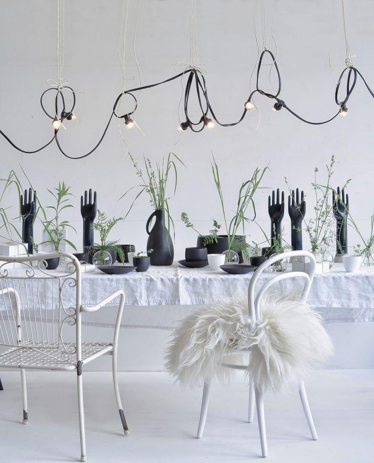 Black-ceramics-String-lights-Ton-chair-from-Heimelig-shop.jpg (1290×1600)