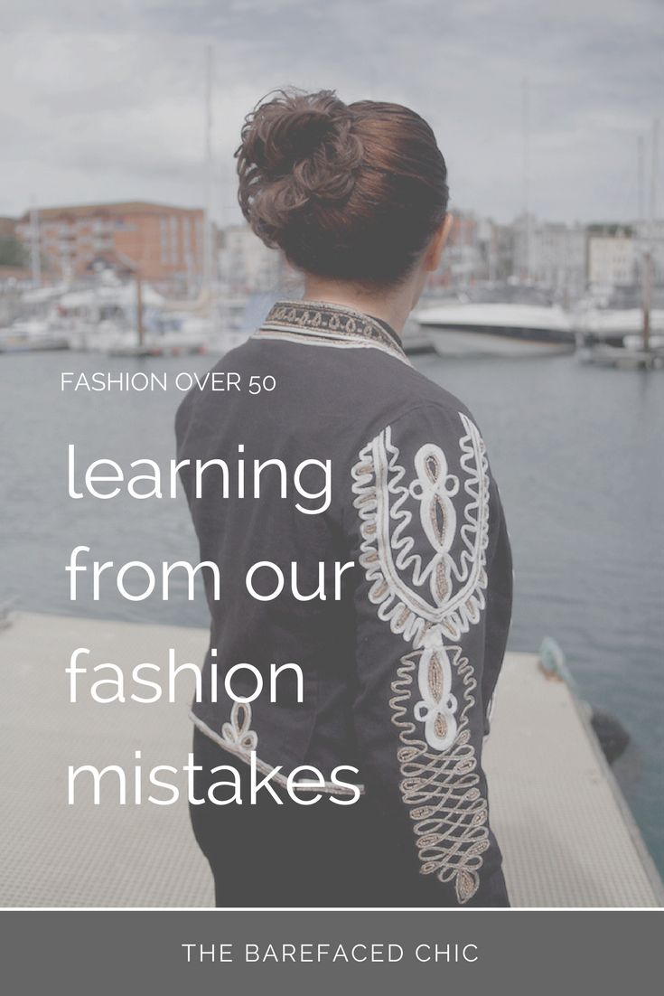 It's never too late to learn more about how to dress to suit our bodies. I've made many fashion mistakes through the years. This post talks about one of them and shares my fashion faux pas. via @Barefaced_Chic