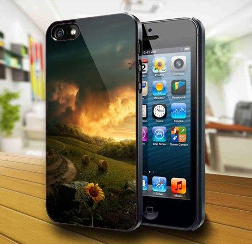 Sunset In The Village #3 iPhone 5 Case | kogadvertising - Accessories on ArtFire