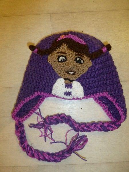 Doc Mc Stuffins Crochet Hat